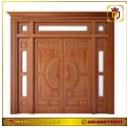 Kusen Pintu Kayu